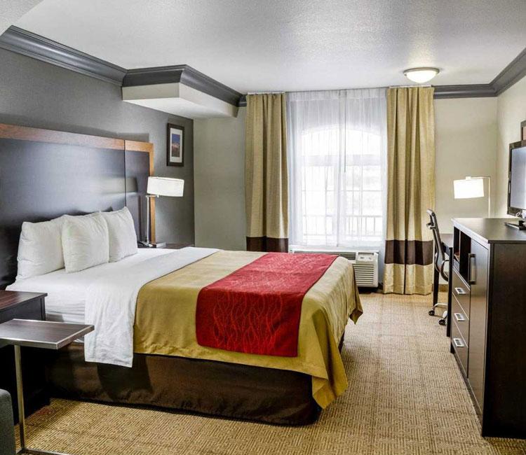 Standard Rooms Bedroom