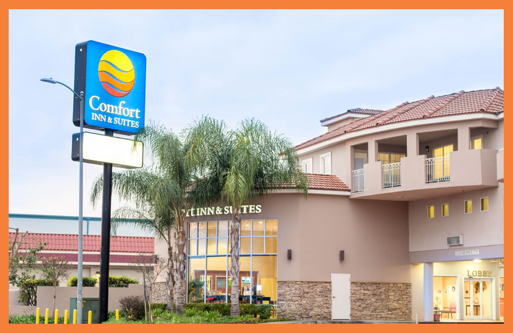 Comfort Inn Suites near Universal North Hollywood Burbank