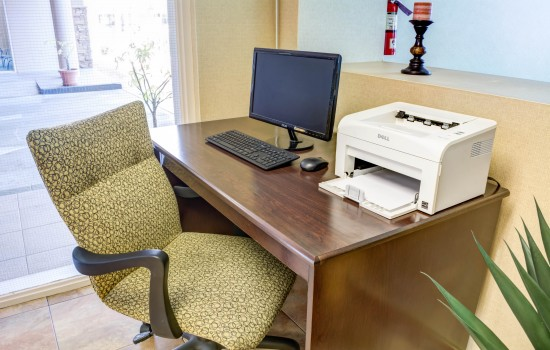 Comfort Inn Suites near Universal North Hollywood Burbank - Guest Use Computer and Printer